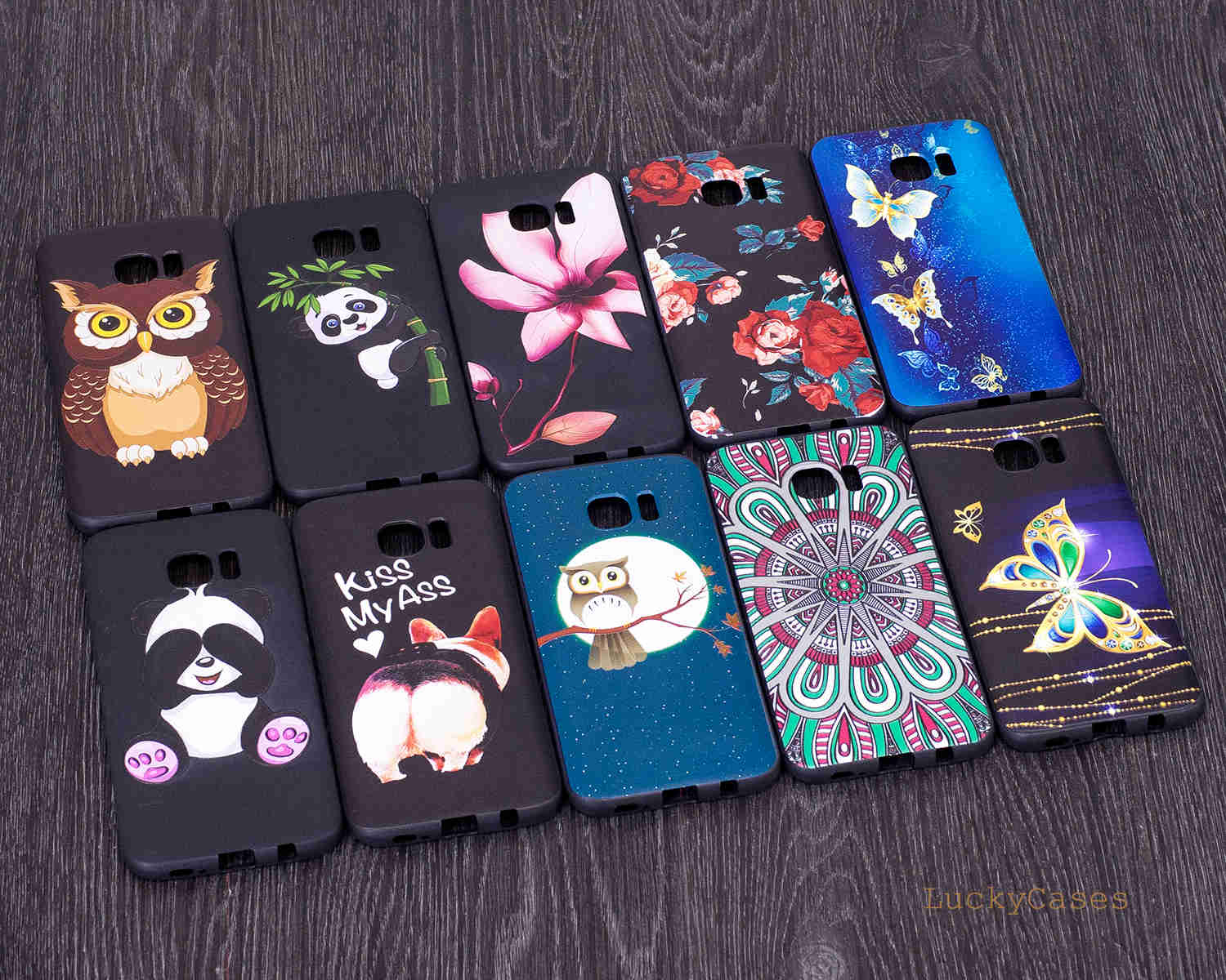 for Samsung S7 EDGE Phone case cover 3D Relief Flower Silicone tpu case back painting capa coque Painted