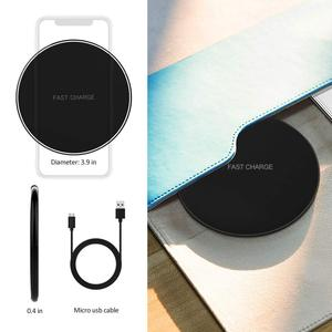 Image 3 - NTONPOWER 10W Fast Wireless Charger For iPhone X 8 XS Max XR Qi Wireless Charger for Samsung S8 S9 Plus USB Phone Charger Pad