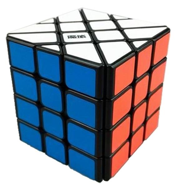 MoYu AoSu Fisher 4x4x4 Cubo Mágico de Plástico Negro Grandes Niños juguetes Educativos Rompecabezas de Juguete de Regalo Speedcuebrs colección