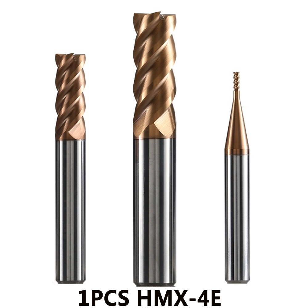 HMX-4E HM-4E ZCC CT Cnc Tools Milling Cutter Solid Carbide End Mill Milling Cutters Cutting Tools Tungsten Carbide Endmill