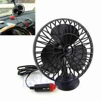12V Powered Mini Truck Car Vehicle Cooling Air Fan Adsorption Summer Gift