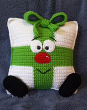 Whimsical Christmas Present Pillow  decorate home baby use