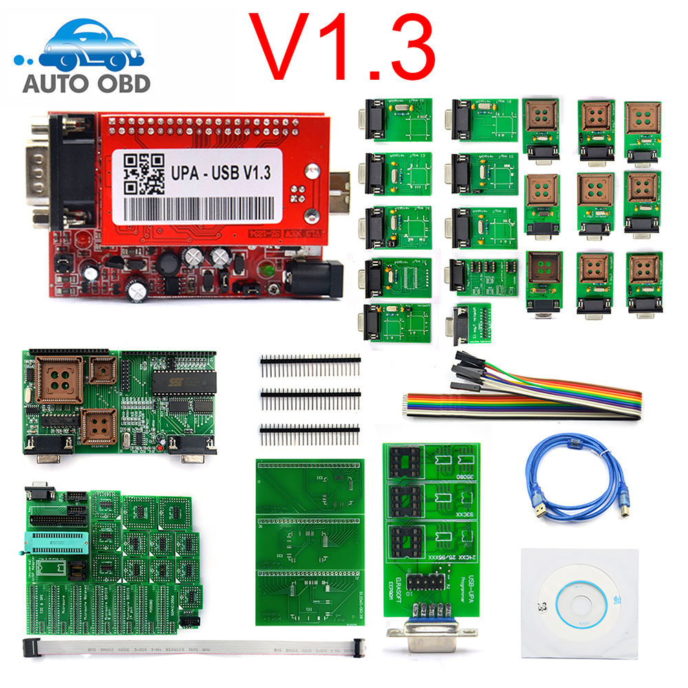Usb-Programmer ECU UPA Diagnostic-Tool Full-Adapter UPA-USB with Usb-V1.3 Qualityupa