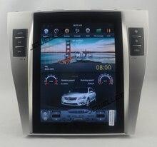 10,4 «Тесла стиль вертикальный экран android 6,0 Автомобильный GPS радио навигация для Toyota Camry Aurion daihatsu altis 2007-2011