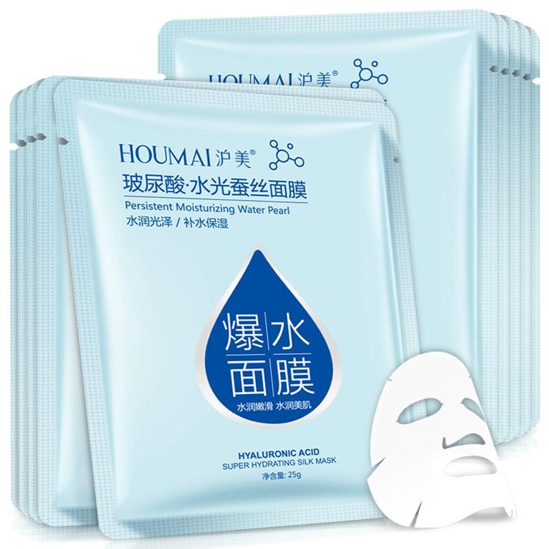Hyaluronic acid face mask korean sheet mask Moisturizing facial mask skin care corean tony moly makeup skincare 3