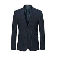 2018 style mens blazer jacket mariage party formal blazer masculino slim fit casual slim fit blazer male slim fit Two buckles
