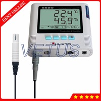S520-EX-RJ45 Data Logger Temperature Humidity RJ45 interface Datalogger with Digital Thermometer Hygrometer 43 000 Recorder