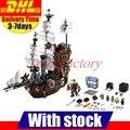 LEPIN 16002 Modular Creador del Barco Pirata Barba Metal Vaca Marina Kits de los Ladrillos Del bloque hueco Set Juguetes Compatible 70810