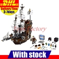 LEPIN 16002 Modular Creator Pirate Ship Metal Beard's Sea Cow Building Block Set Bricks Kits Set Toys Compatible 70810