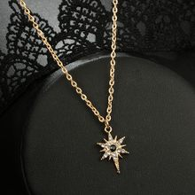 Women Necklace Clothing Accessories Necklace Convenient Collocation Collarbone Chain Collares De Moda@50(China)