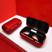 Écouteurs sans fil Bluetooth 5.0 écouteurs Bluetooth étanche son Hi-Fi avec micro écouteurs Bluetooth avec étui de charge Portable
