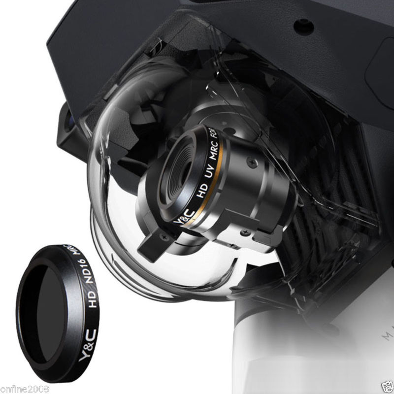 1 шт. высокое качество mrc-УФ mrc-CPL ND4 ND8 ND16 Камера HD объектив Фильтры для dji Мавик Pro drone Камера RC Запчасти ...