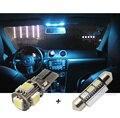 10 pcs xCar Canbus LEVOU barra de luz Interior Branco kit para VW POLO 6R 2010-2014, Carro LEVOU Dome + Traseiro + espelho + Pés + Tronco