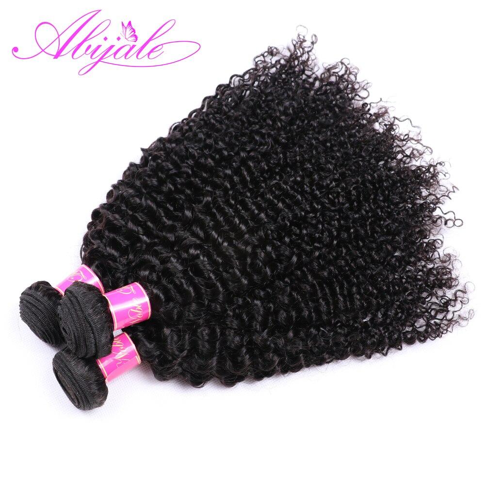 HTB1v7dWdi6guuRjy0Fmq6y0DXXaj Abijale Kinky Curly Bundles With Closure Human Hair Bundles With Closure Remy Brazilian Hair Weave Bundles