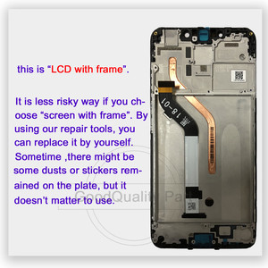 Image 3 - New for Xiaomi mi Pocophone F1 LCD Display +Touch Screen Panel For Xiaomi Poco F1 India LCD Digitizer Replacement Repair Parts