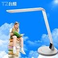 5 temperatura de cor mutável e painel de LED lâmpada de mesa com deslizamento ajuste de brilho e ce rohs, Mesa lâmpada