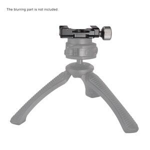 Image 4 - Andoer 38mm อลูมิเนียมสกรูลูกบิด MINI QUICK RELEASE CLAMP ใช้งานร่วมกับ ARCA Swiss 38mm QR PLATE