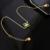 Jóias Caimao 0.53ct Natural Emerald & Diamante 18 k de Noivado De Ouro Amarelo Pulseira Cadeia