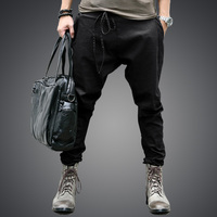 Harem Pants New Style Fashion 2016 Casual Sagging Pants Trousers Drop Crotch Jogging Pant Men Joggers