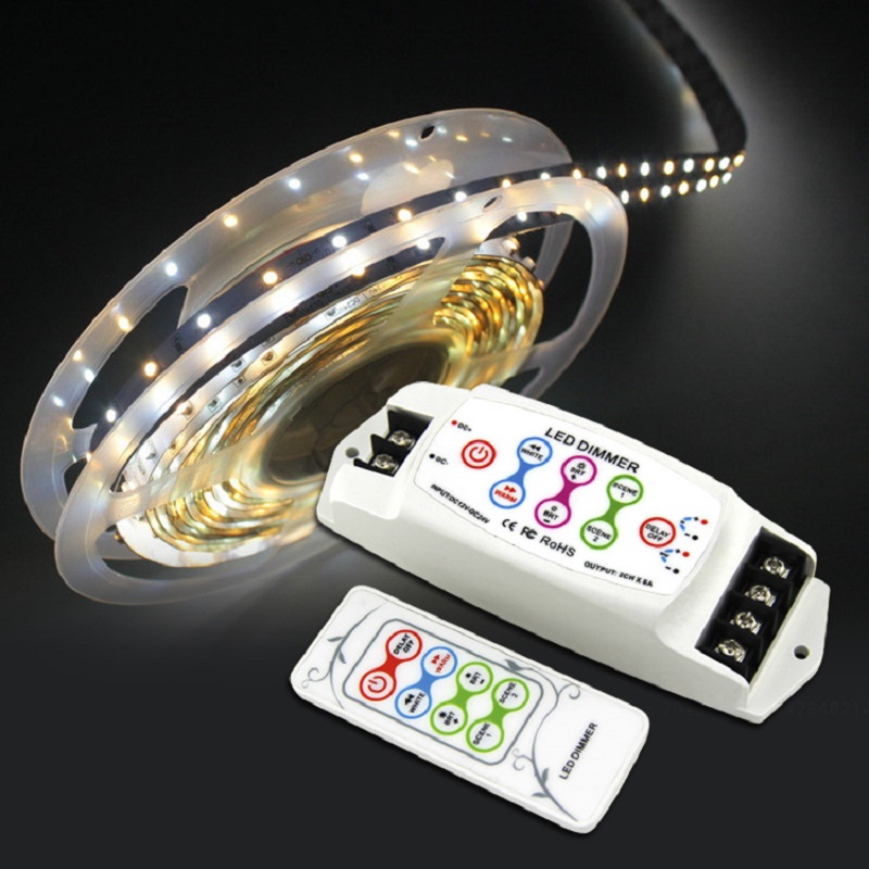 DC12V 24V CV BC 310RF 2channel constant current Color temperature CT led controller wireless led rf dimmer for 5050 led tape