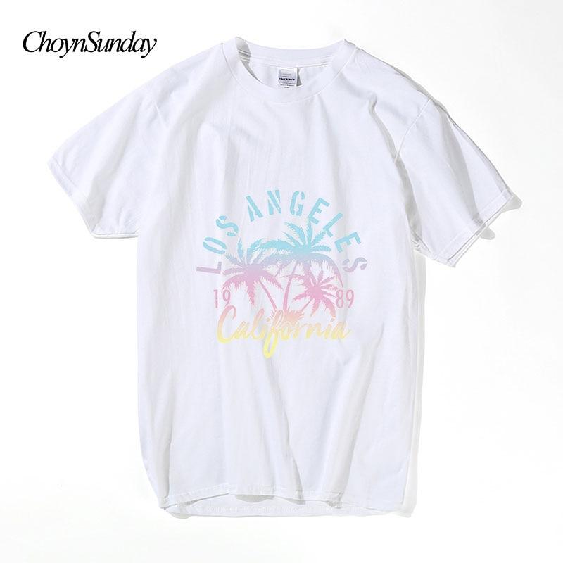 2018 ChoynSunday New Hot Sale Los Angeles Kalifornien Print Man - Herrkläder - Foto 1