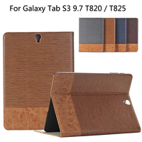 Business Leather Case For Samsung Galaxy Tab S3 T820 T825 9 7 Inch Tablet Support Stand