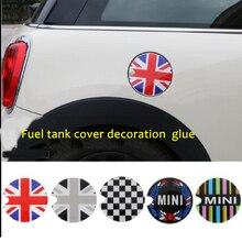 цена на Fuel Tank Cap Sticker Oil tank Decals For BMW Mini Cooper S JCW Clubman Countryman R50 R52 R55 R56 R57 R58 R59 R60 R61 F55 F56