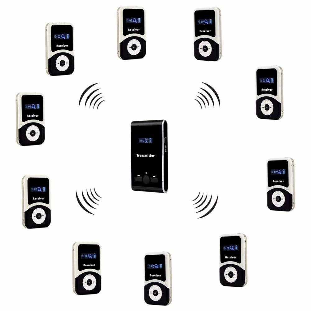 RETEKESS Système de Guide Sans Fil FM Audio Langue Système D'interprétation Pour Conférence Église Musée Guide Touristique L'éducation
