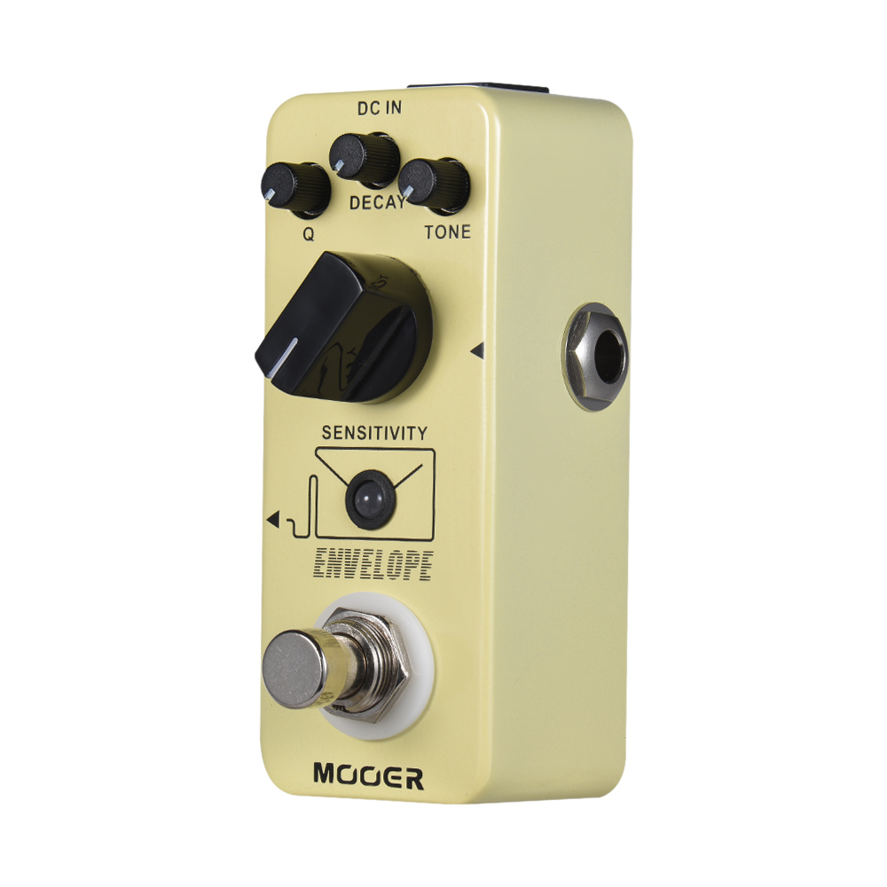 100 True Analog Circuit Mooer Envelope Auto Wah Guitar Pedal Effect Bypass Full Metal Shell In Parts Accessories From Sports