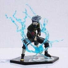 Japanese Anime Naruto Hatake Kakashi PVC Action Figure Toy Doll Model 13cm Free Shipping