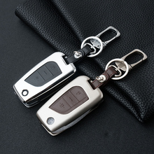 Car Key Case Shell For TOYOTA Series Car-Styling High-quality 2/3 Button Zinc Alloy Protection