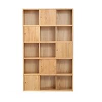 Para Libro Decor Mueble De Cocina Meuble Libreria Industrial Display Wood Retro Book Decoration Furniture Bookshelf Case