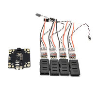 Exuav flytower F4 Pro V2 Игровые джойстики и PDB встроенный 5 В/12 В Bec & 4 * BLHeli_32 Dshot1200 35A ESC для RC моделей MultiCopter