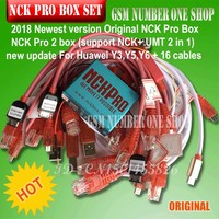 2019 Newest version Original NCK Pro Box NCK Pro 2 box (support NCK+ UMT 2 in 1)new update For Huawei Y3,Y5,Y6 + 16 cables