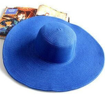 New Summer Fashion Floppy Straw Hat