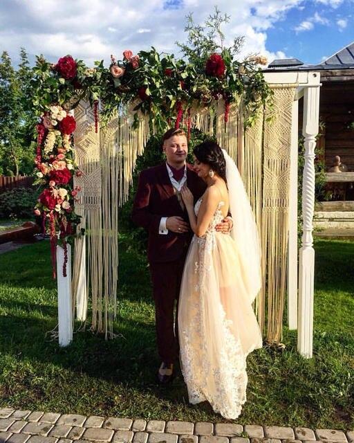 Macramae Ideas Wedding Arch: 150cm X 230cm Large Macrame Wedding Arch, Macrame Wedding