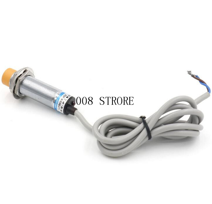 1pc LJC18A3-B-J/DZ M18 Two Wire AC NC 1-10mm distance measuring capacitive proximity switch 30mm capacitive proximity sensor switch nc 25mm detection distance ljc30a3 h j dz 2 wire ac90 250v mounting bracket