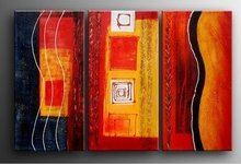 MODERN ABSTACT OIL PAINTING 100%PAINTED BY HAND Abstract  free shipping