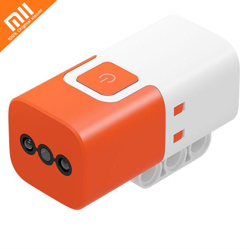 Original Xiaomi MITU Color Sensor For Mitu DIY Building Blocks Robot Recognition Of Color And Grayscale Wireless Kids Toys