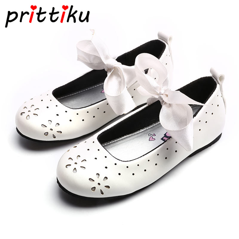 Toddler Girl Flash Mary Jane Casual Flats Little Kid Glitter Snowflake Breathe Hole Bow Loafers Children PU Leather Dress Shoes