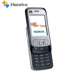 Перейти на Алиэкспресс и купить 6110n original unlocked nokia 6110 navigator mobile phone russian keyboard arabic keyboard refurbished
