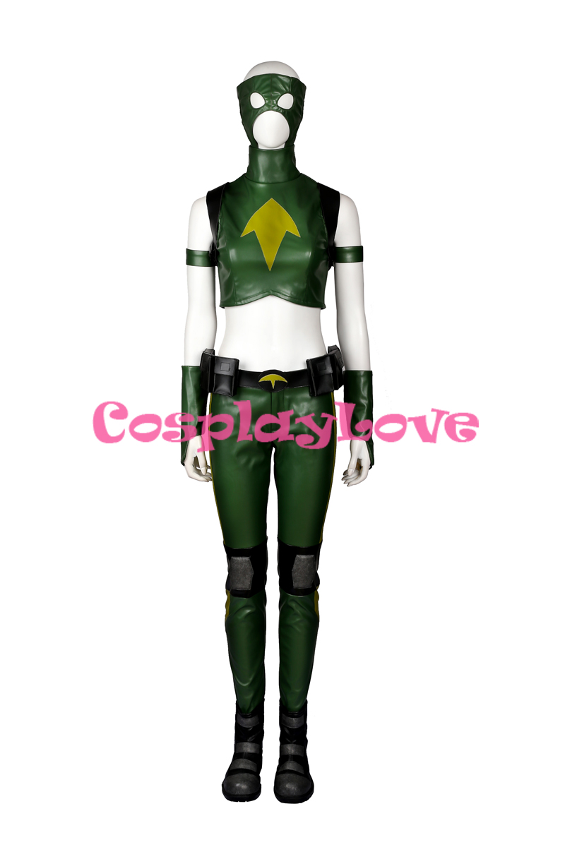 DC Young Justice Artemis Crock Cosplay Costume Custom Made For Halloween Christmas