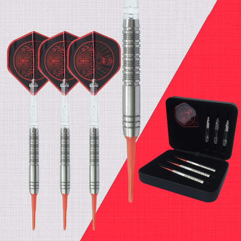 Best selling Professional 18g soft tip dart w/ 85% tungsten Barrel Shafts Nice Flight for Electronic Dartboard 3pcs/set winmax best quality top design blade wire system professional bristle dartboard for match play