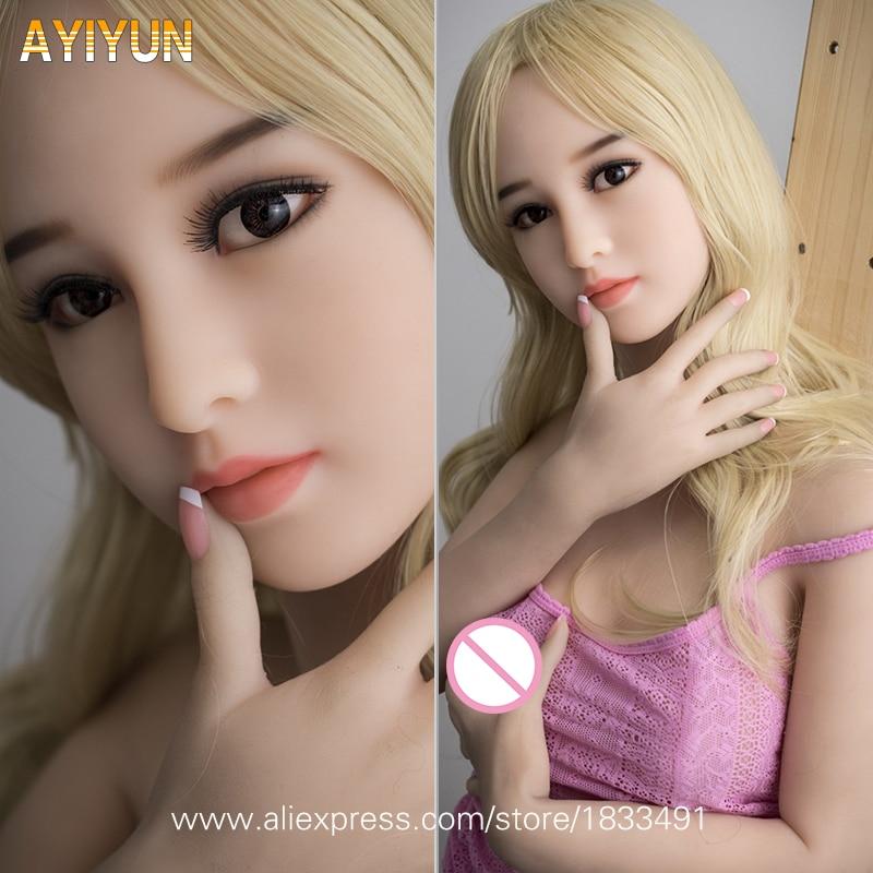 AYIYUN Reale Bambole Del Sesso Del Silicone Per Adulti Giapponese Bambola di Amore Mini Vagina Realistica Anime Realistico Giocattoli Sexy per Gli Uomini Grande Seno