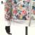 Plus Size 3XL Primavera Outono Mulheres Jaqueta de Beisebol Moda Floral Ditsy Impressão Zipper jaqueta Do Time Do Colégio Outwear femininas C55302