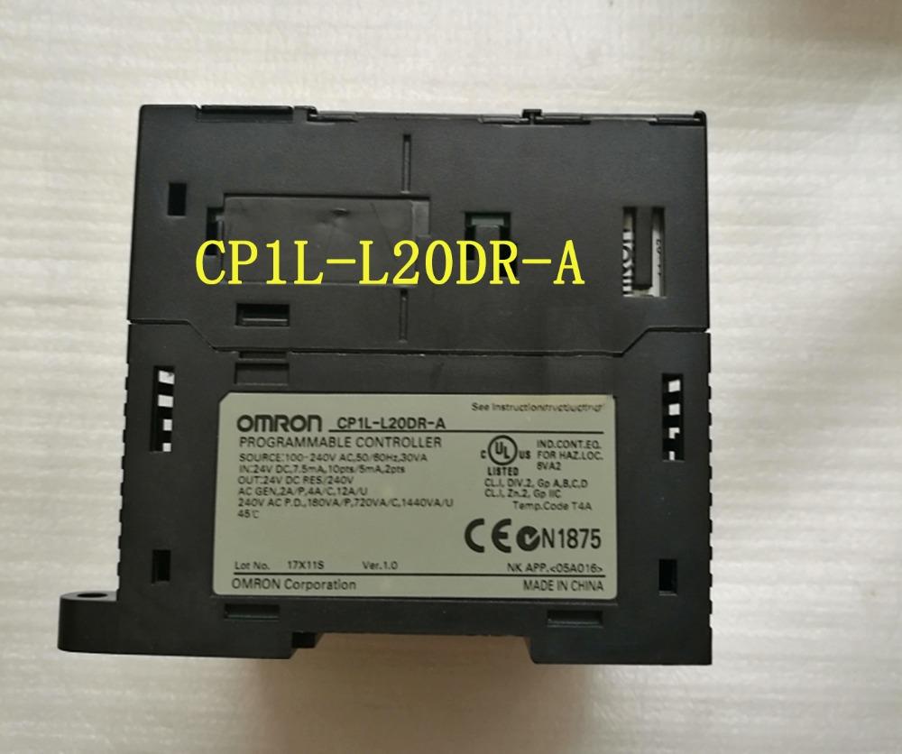 L20DR CP1L-L20DR-A Original New PLC CPU 100-240VAC input 12 point relay output 8 point OMRON PLC CONTROLLER , PLC MODULE new original cp1e e14sdr a plc cpu ac100 240v input 8 point relay output 6 point