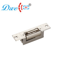 DWE CC RF Locks 12v rf narrow door european type fail secure electronic door lock strike no type narrow type electric strike electric strike door lock for access control system use power fail lock brand new no or nc model