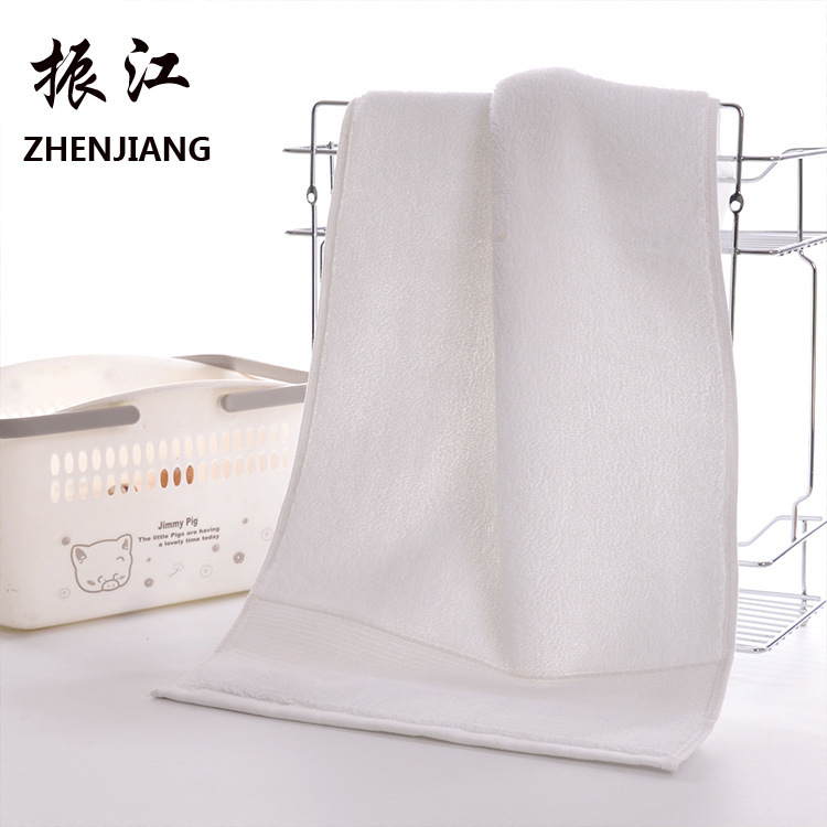 Image 4 - Home home textile comfortable towel, cross border pure cotton thickening towel, hotel supermarket gift wholesale-in Storage Bags from Home & Garden