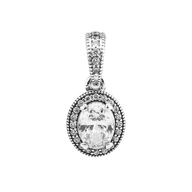925 Sterling Silver Vintage Elegance Pendant Charm Beads