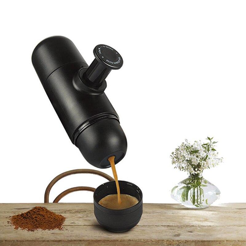 Mini Manuel Portable Café Maker Mini Espresso Manuellement De Poche Pression Espresso Café Machine Pressage Pour Accueil Voyage